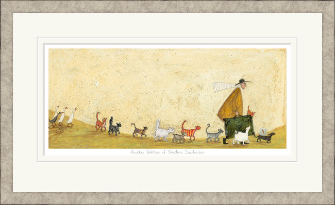 Another Suitcase of Sardine Sandwiches print by Sam Toft