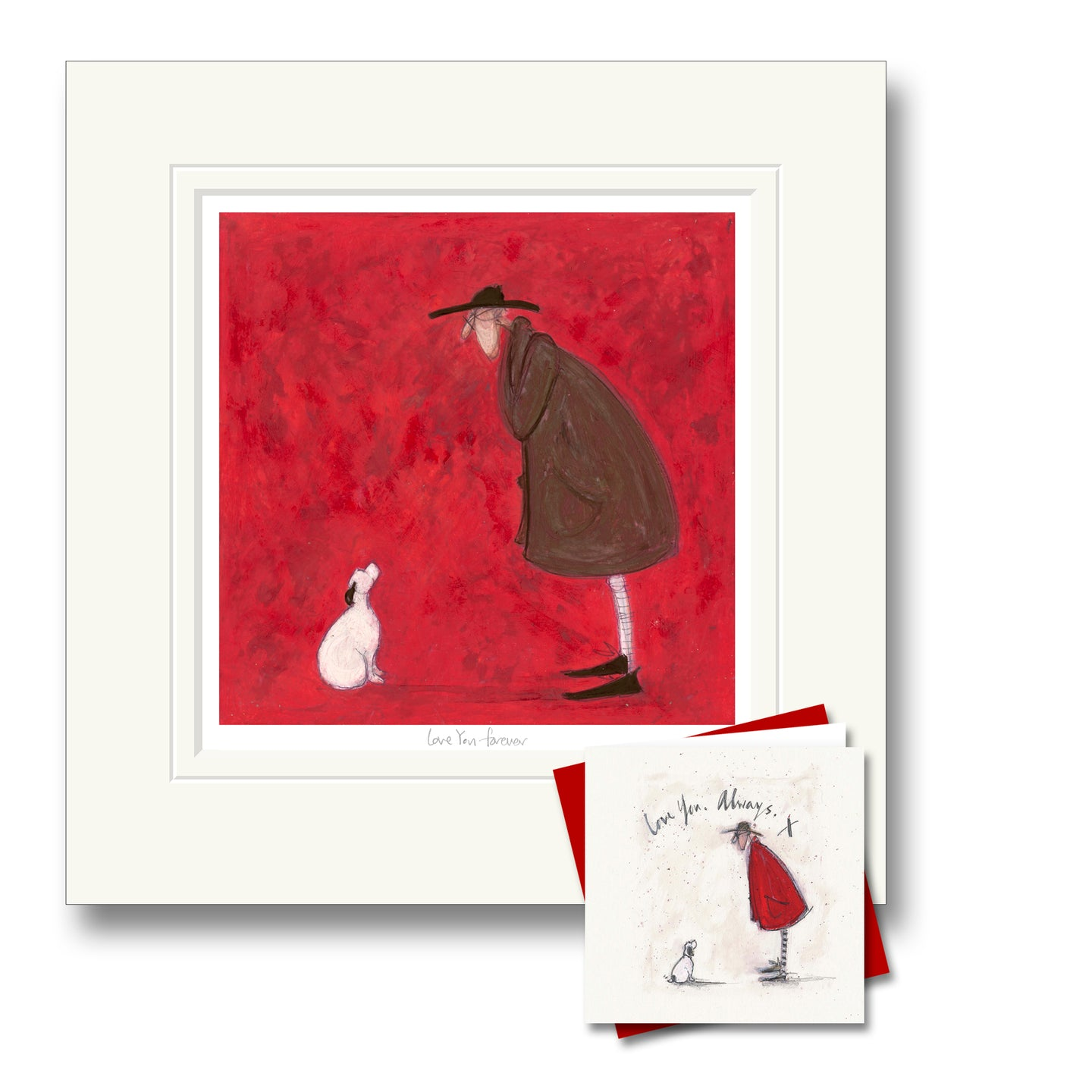 Love you Forever Print by Sam Toft