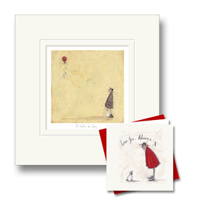 A Note to Say Print by Sam Toft