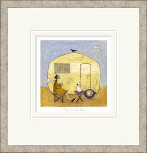 This is the Life print by Sam Toft