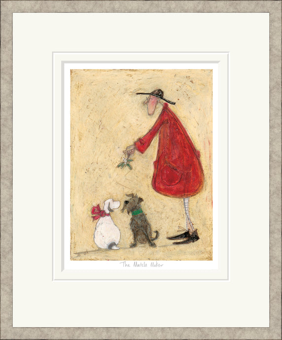 The Match Maker print by Sam Toft