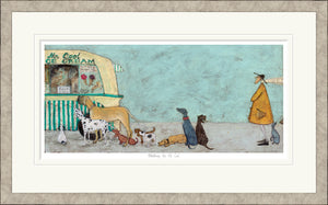 Waiting for Mr Cool print by Sam Toft