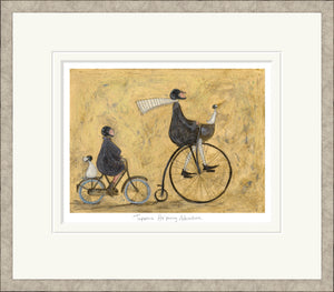 Tuppence Ha'penny Adventure print by Sam Toft