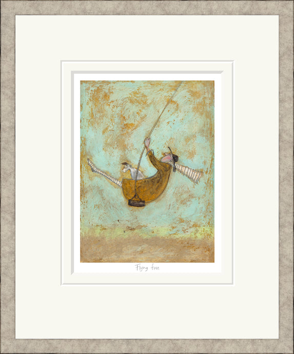 Flying Free print by Sam Toft