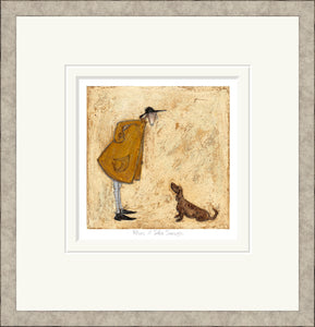 Who's a Silly Sausage print by Sam Toft