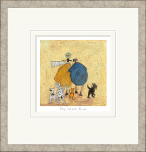 Days Out with Friends print by Sam Toft