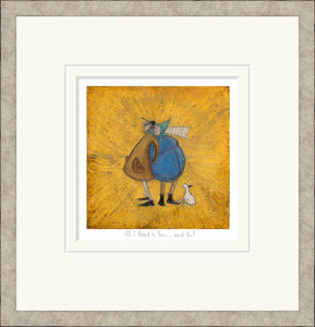 All I Need is You print by Sam Toft