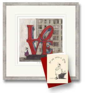 Love Is All We Need Print by Sam Toft