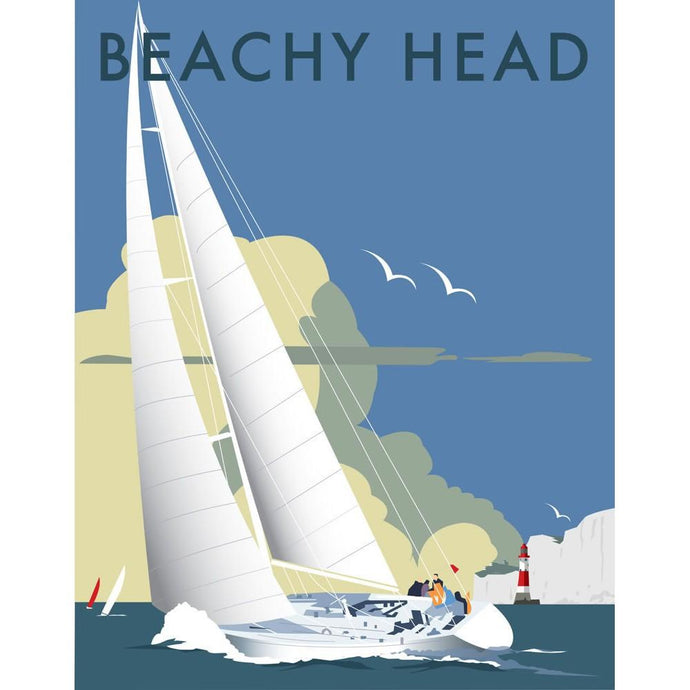 Beachy Head Print by Dave Thompson