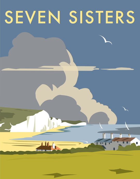 Seven Sisters Print by Dave Thompson