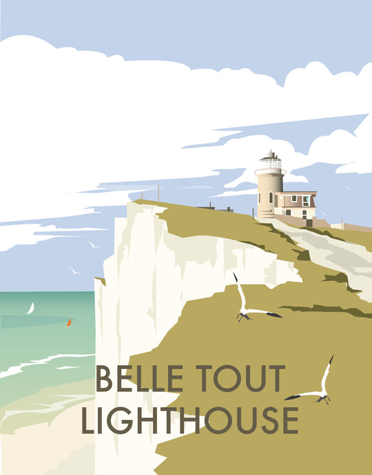 Belle Tout print by Dave Thompson