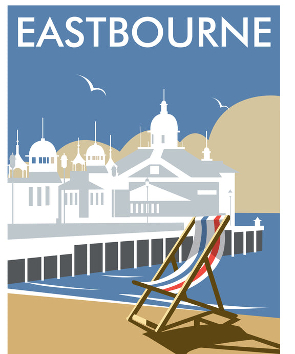 Eastbourne Print by Dave Thompson