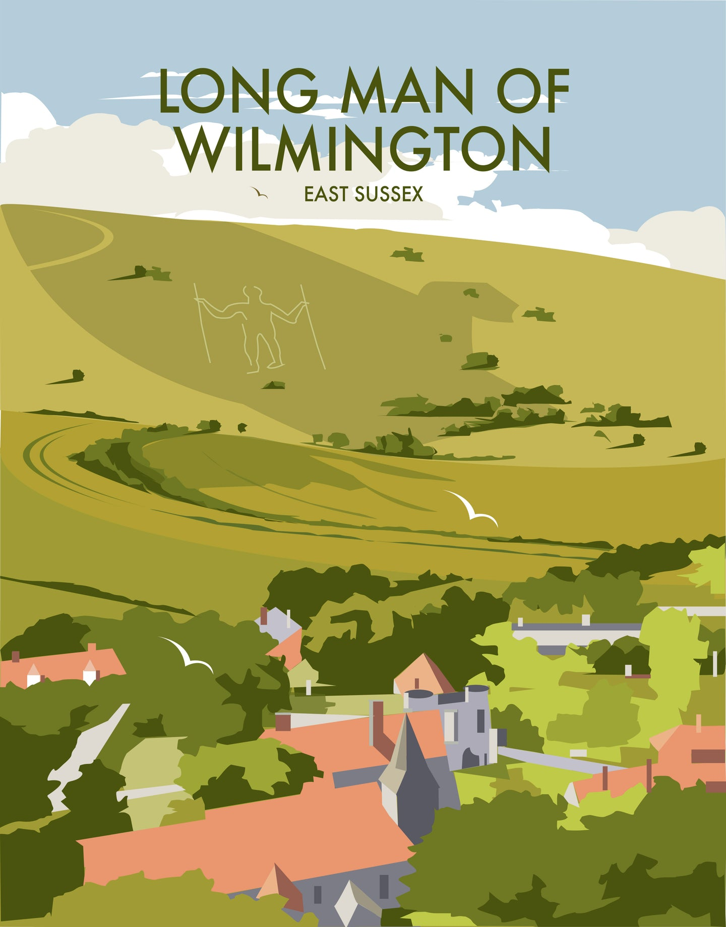 Longman of Wilmington Print by Dave Thompson