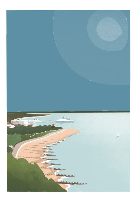 Eastbourne Print by Adam McNaught-Davis