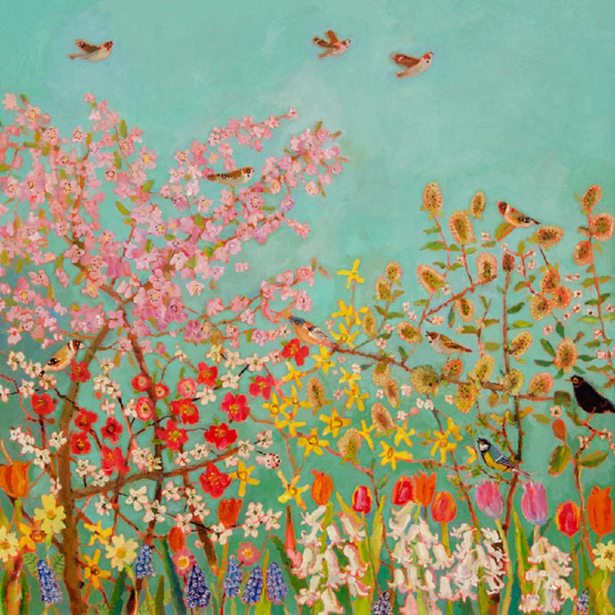 Spring Chorus Print by Vanessa Cooper