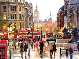 London Landscape print by Richard Macneil