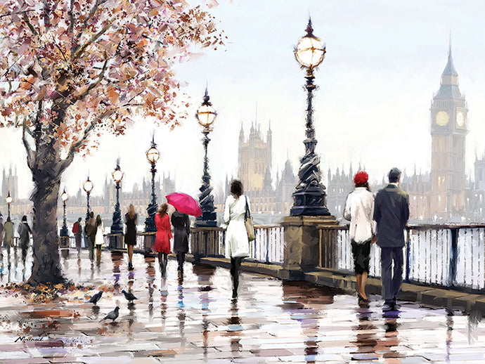 Thames View print by Richard MacNeil