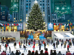Rockefeller Centre print by Richard MacNeil