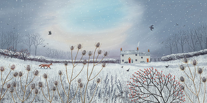 First Snow print by Jo Grundy