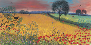 Harvest Song print by Jo Grundy