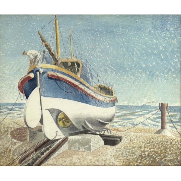 The Lifeboat Print by Eric Ravilious