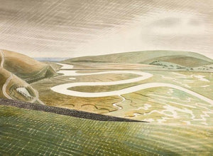 Cuckmere Haven print by Eric Ravilious