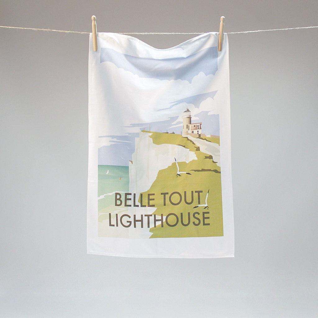 Belle Tout tea towel by Dave Thompson