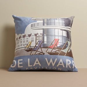 De La Warr Pavilion Cushion by Dave Thompson