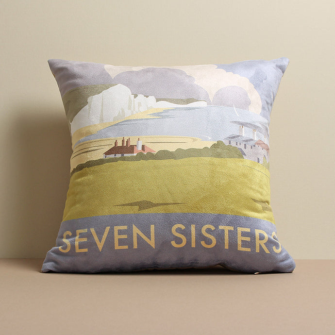 Seven Sisters Cushion by Dave Thompson