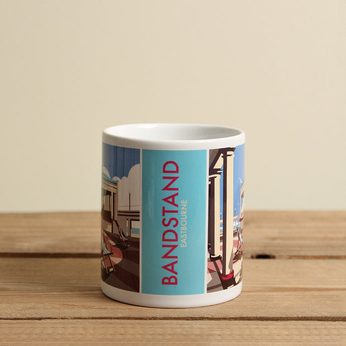 Eastbourne Bandstand Mug by Dave Thompson