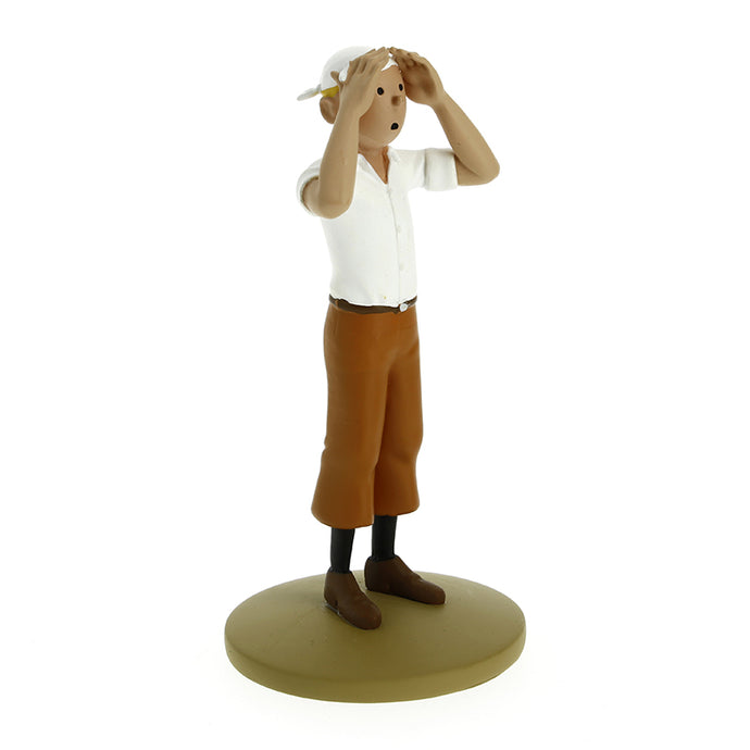 Tintin in the Desert figurine by Herge