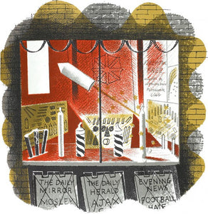 Fireworks (Shop) by Eric Ravilious