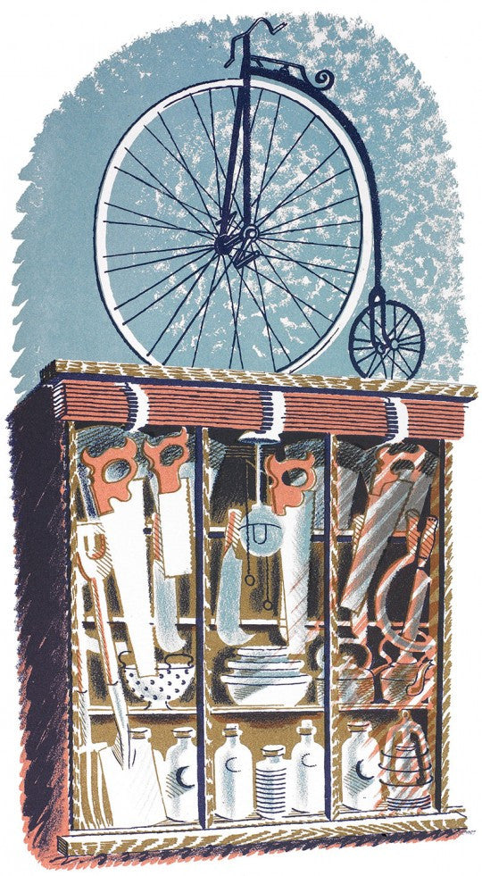 Hardware (Shop) Print by Eric Ravilious