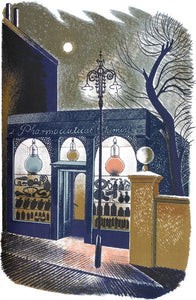 Pharmaceutical (Shop) Print by Eric Ravilious