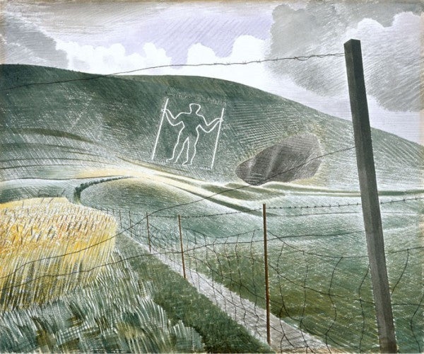 Wilmington Giant Print by Eric Ravilious
