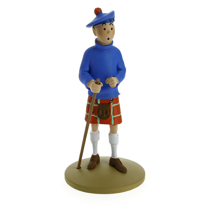 Tintin in a Kilt Figurine by Herge