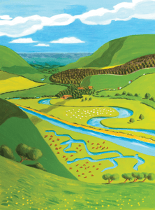 The Cuckmere Print by Sarah Gregson