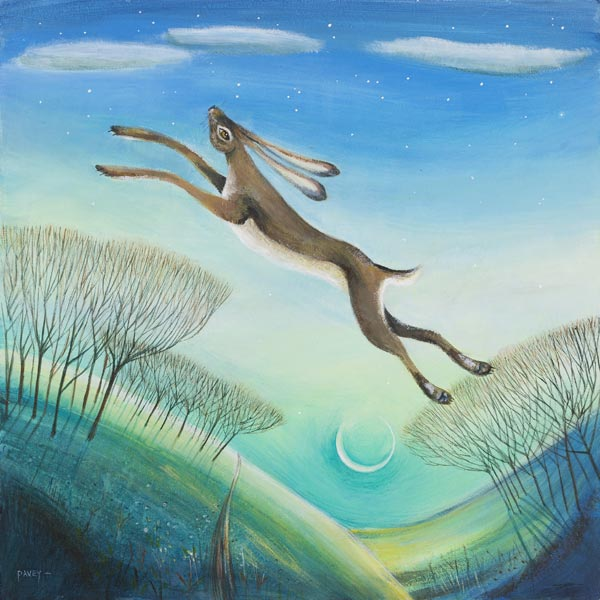 Over the Moon by Carolyn Pavey