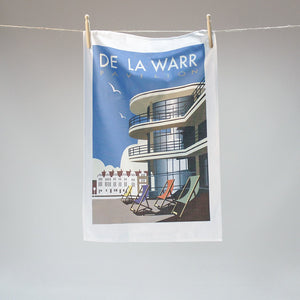 De La Warr Pavilion tea towel by Dave Thompson