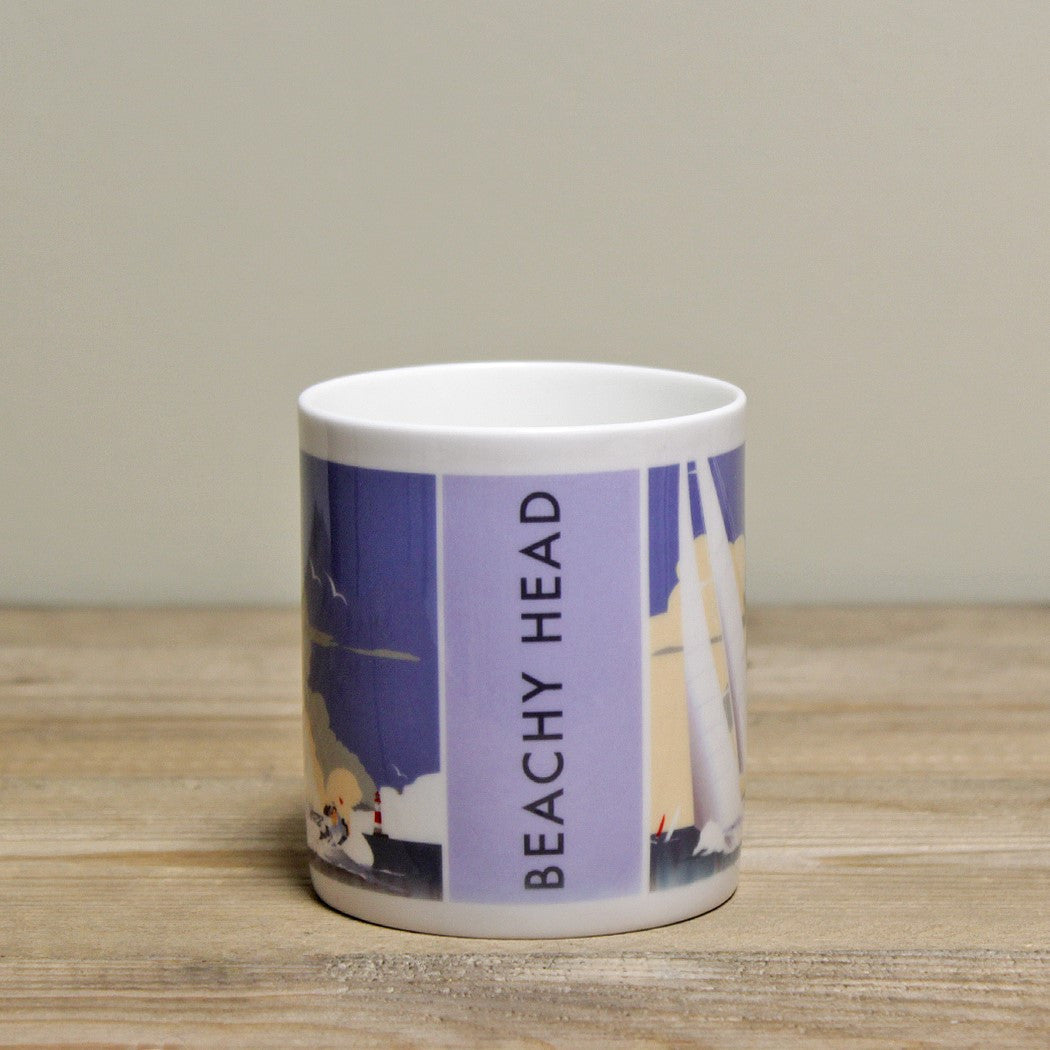 Beachy Head Mug by Dave Thompson