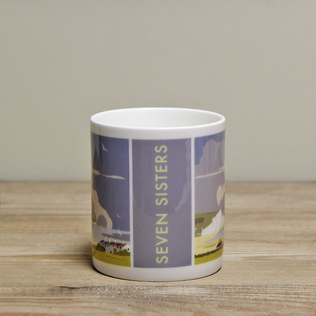 Seven Sisters Mug by Dave Thompson