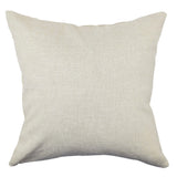 Sandy Seaside throw pillow back image