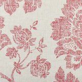 Rustic Floral throw pillow fabric detail