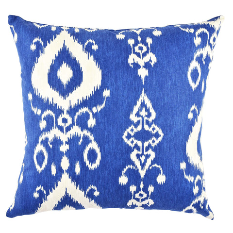 Blue Ikat pillow product image