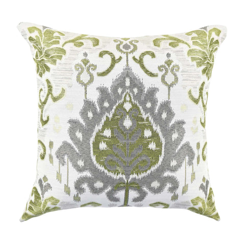 Lime & Pepper Ikat pillow product image