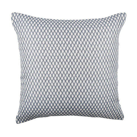 Blue Woven Lattice pillow product image