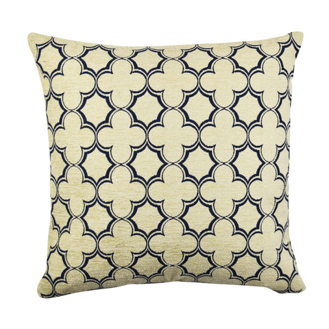 Tan Quatrefoil pillow product image