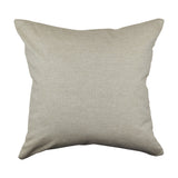 Elephant & Palm throw pillow back image