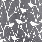 Songbirds & Branches Pillow Fabric Detail