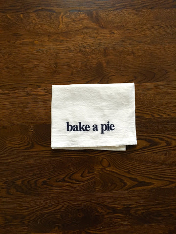 Bake A Pie Towel